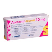 ACETERIN EXPRESS, 10 mg, covered tablets, N10