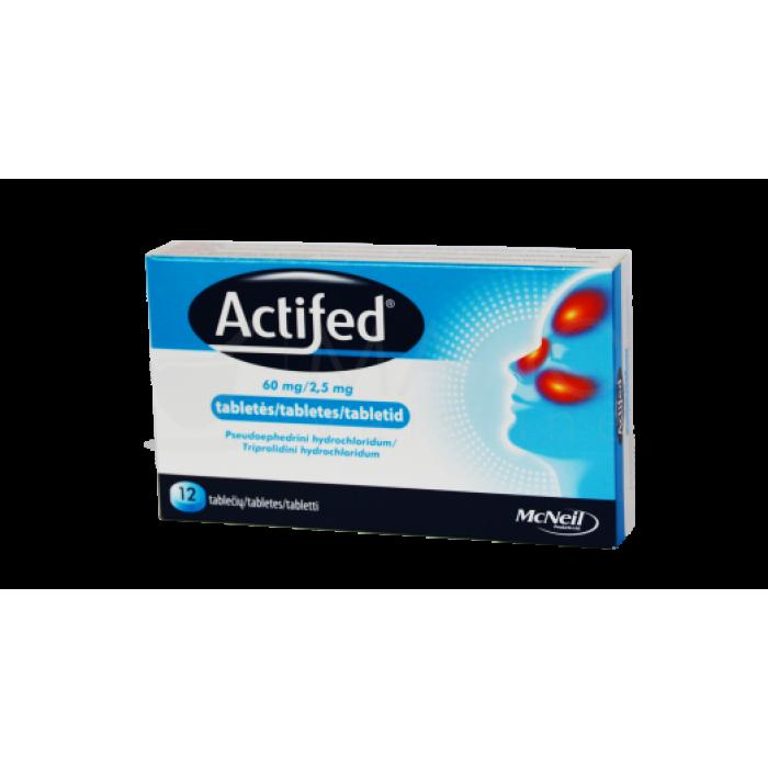 Actifed Tablets, N12