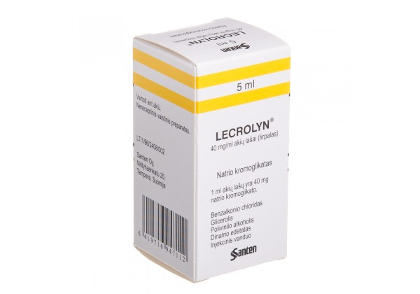 LECROLYN, 40 mg/ml, eye drops, 5 ml