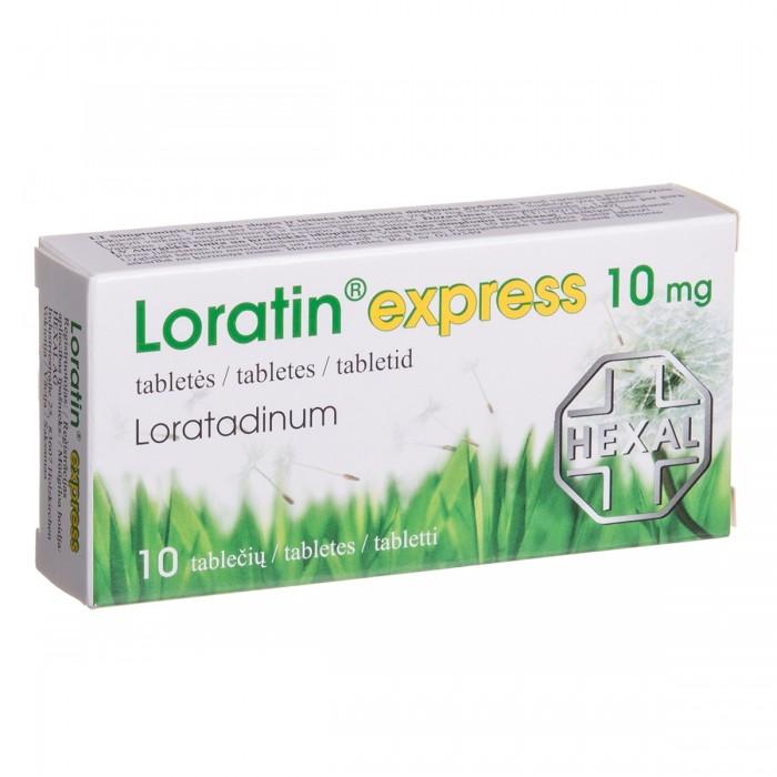 LORATIN EXPRESS, 10 mg, tablets, N10