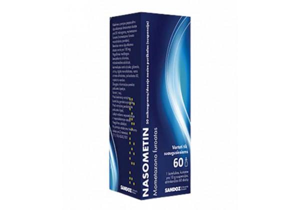 Nasometin Nasal Spray - Mometasone Furoate (60 sprays)