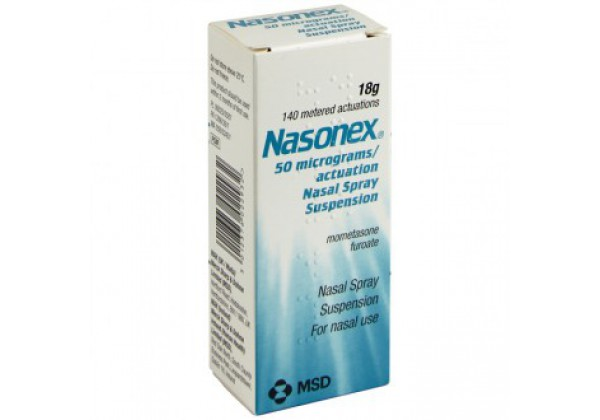 Nasonex Nasal Spray (140 sprays, Mometasone)